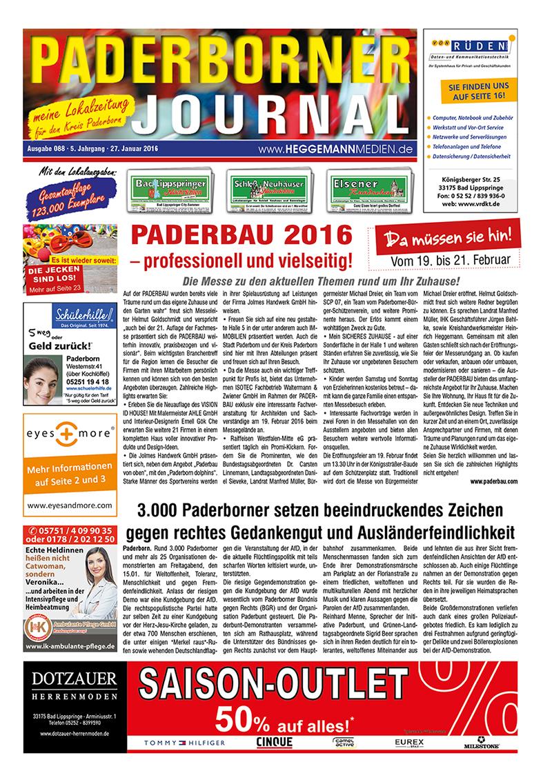 Paderborner Journal 88 vom 27.01.2016