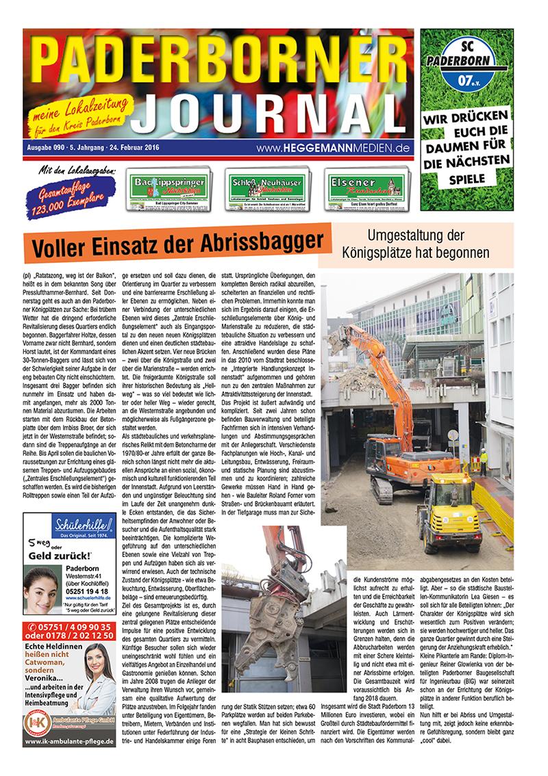 Paderborner Journal 90 vom 24.02.2016
