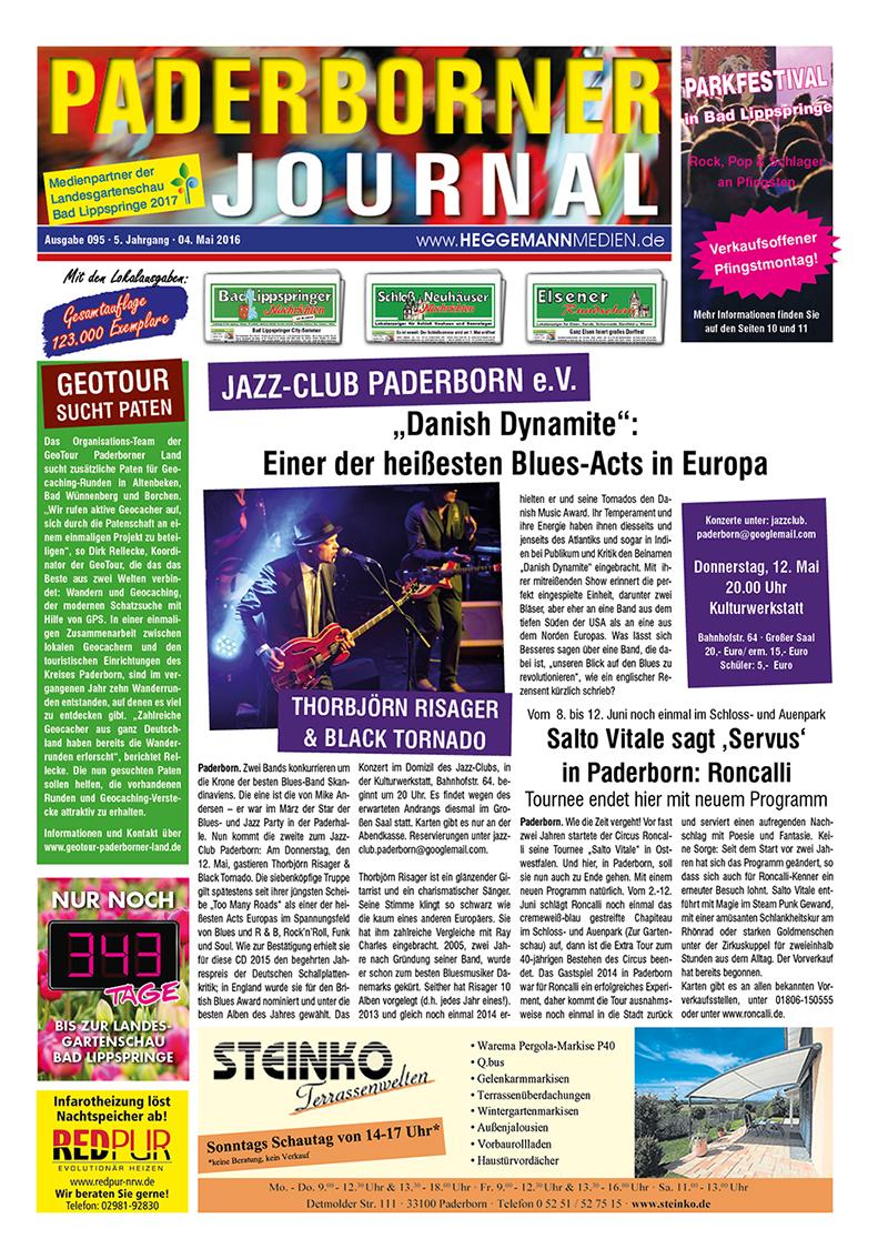 Paderborner Journal 95 vom 04.05.2016