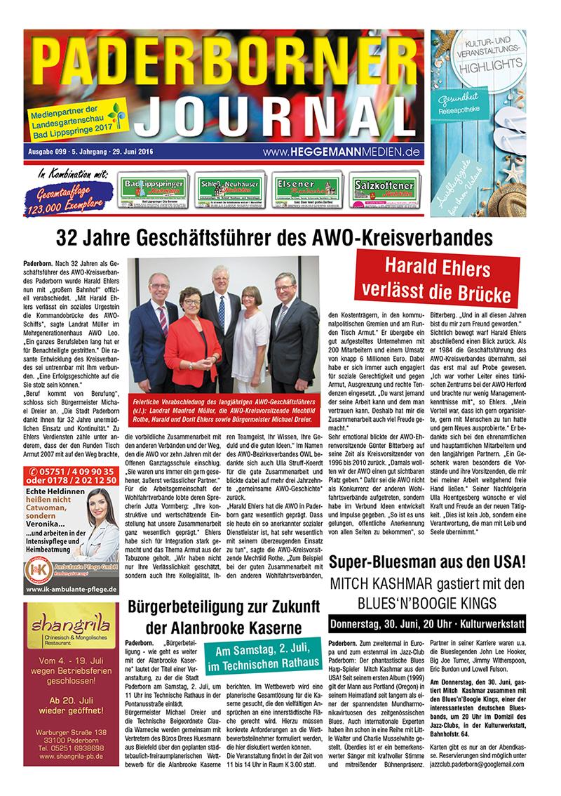 Paderborner Journal 99 vom 29.06.2016