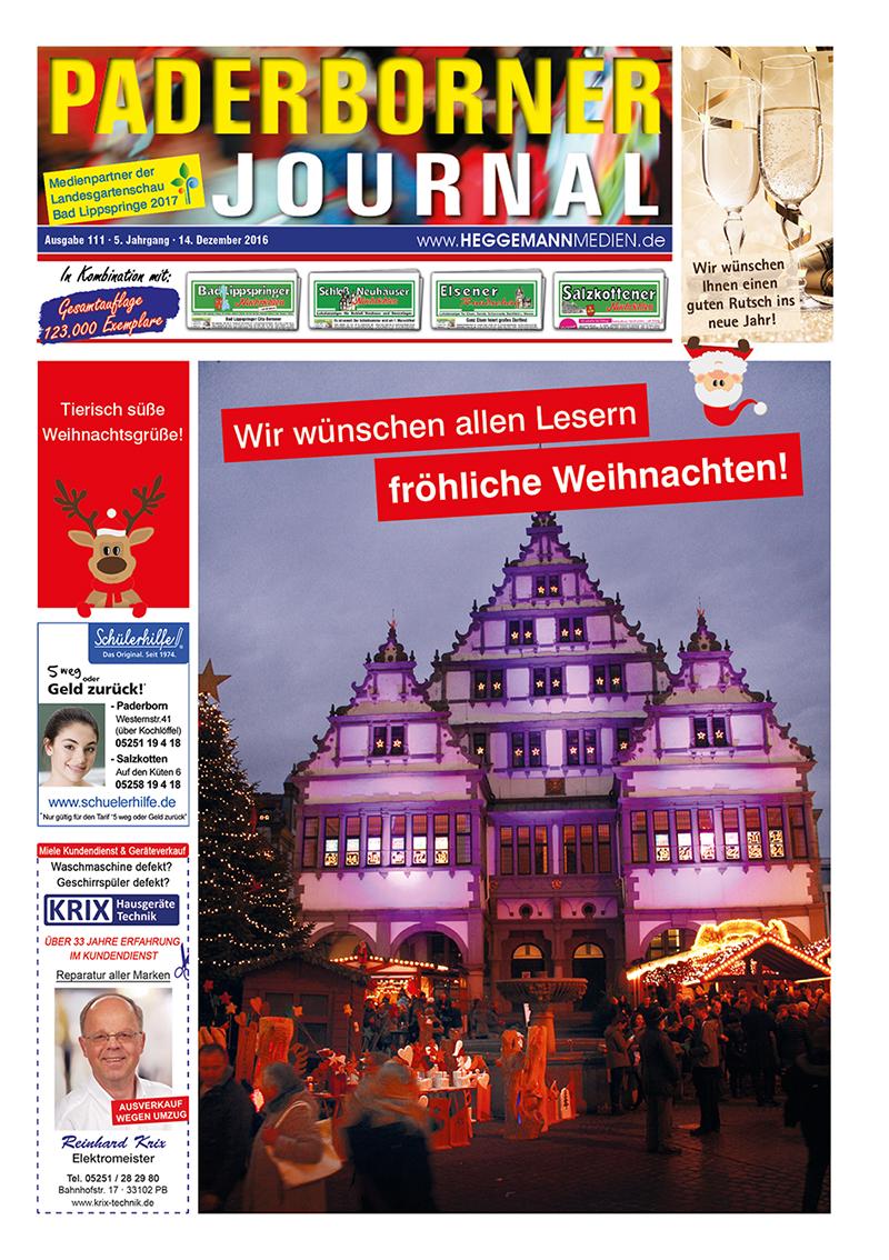 Paderborner Journal 111 vom 14.12.2016