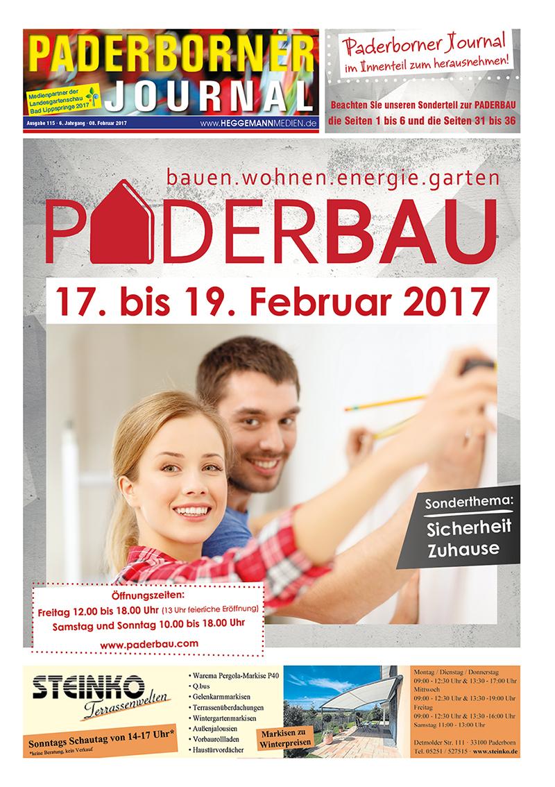 Paderborner Journal 115 vom 08.02.2017