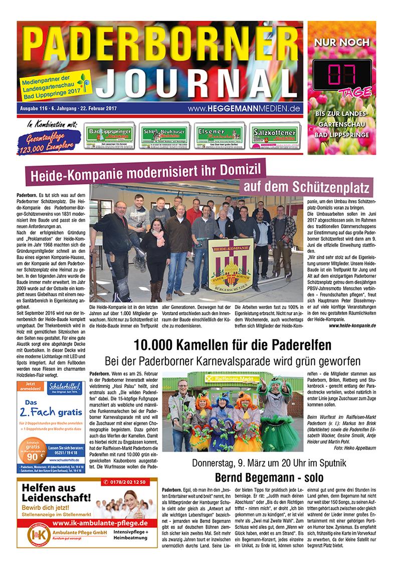 Paderborner Journal 116 vom 22.02.2017