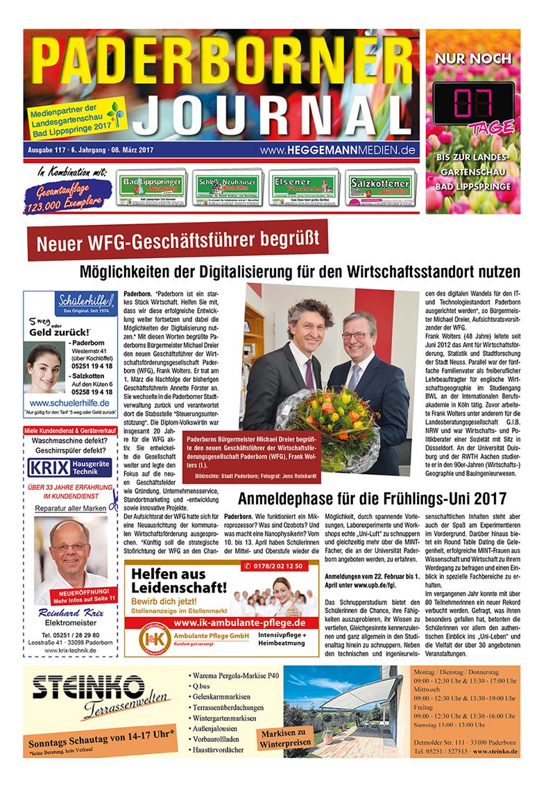 Paderborner Journal 117 vom 08.03.2017
