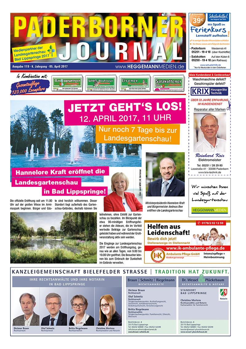 Paderborner Journal 119 vom 05.04.2017