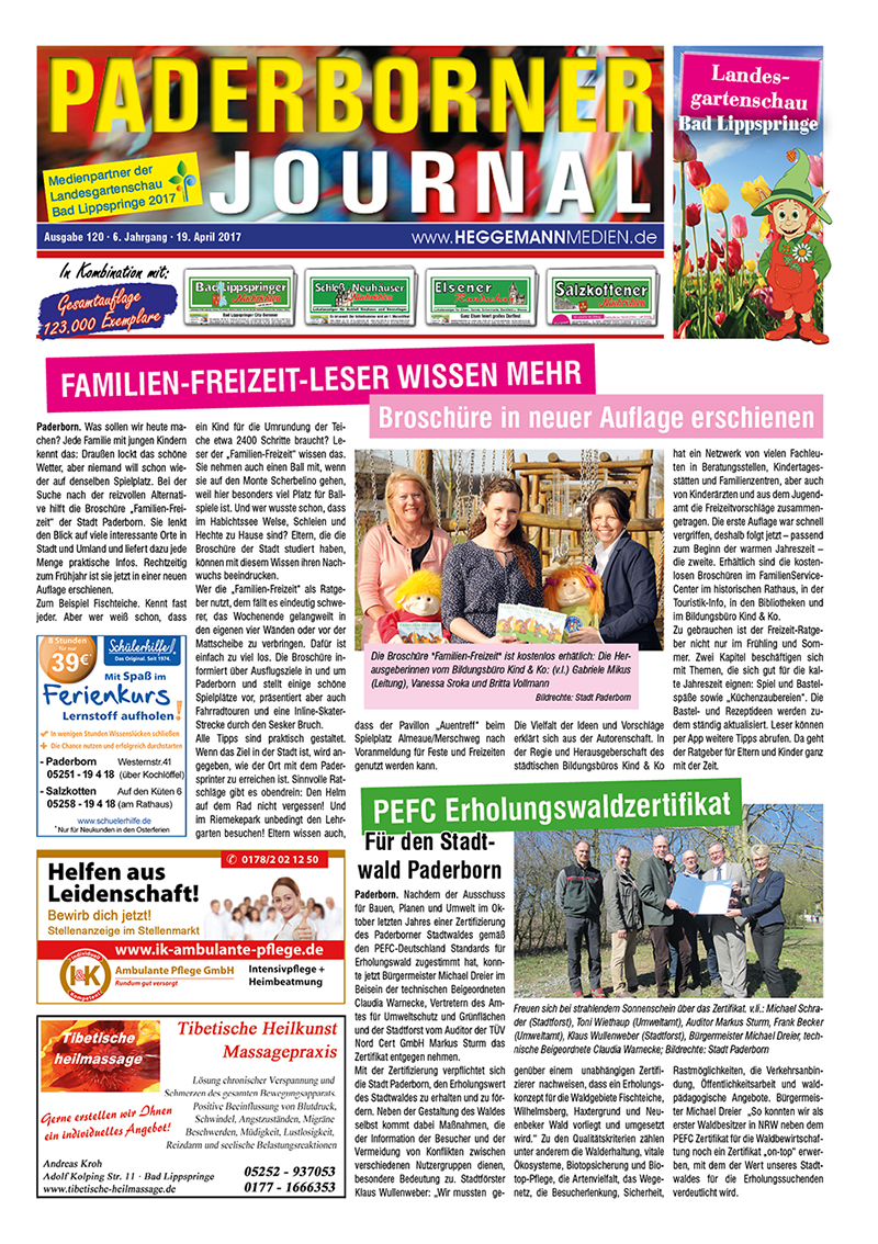 Paderborner Journal 120 vom 19.04.2017