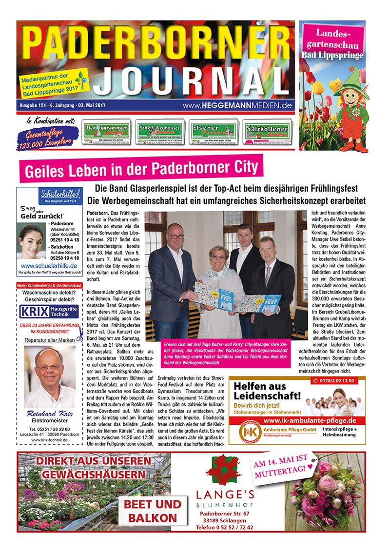 Paderborner Journal 121 vom 03.05.2017