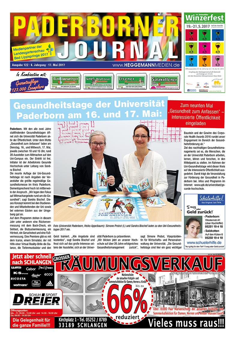 Paderborner Journal 122 vom 17.05.2017