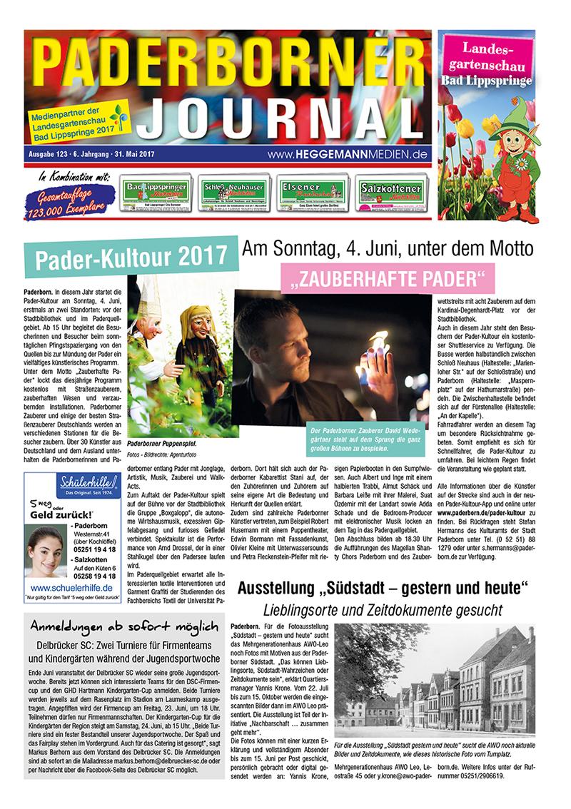 Paderborner Journal 123 vom 31.05.2017
