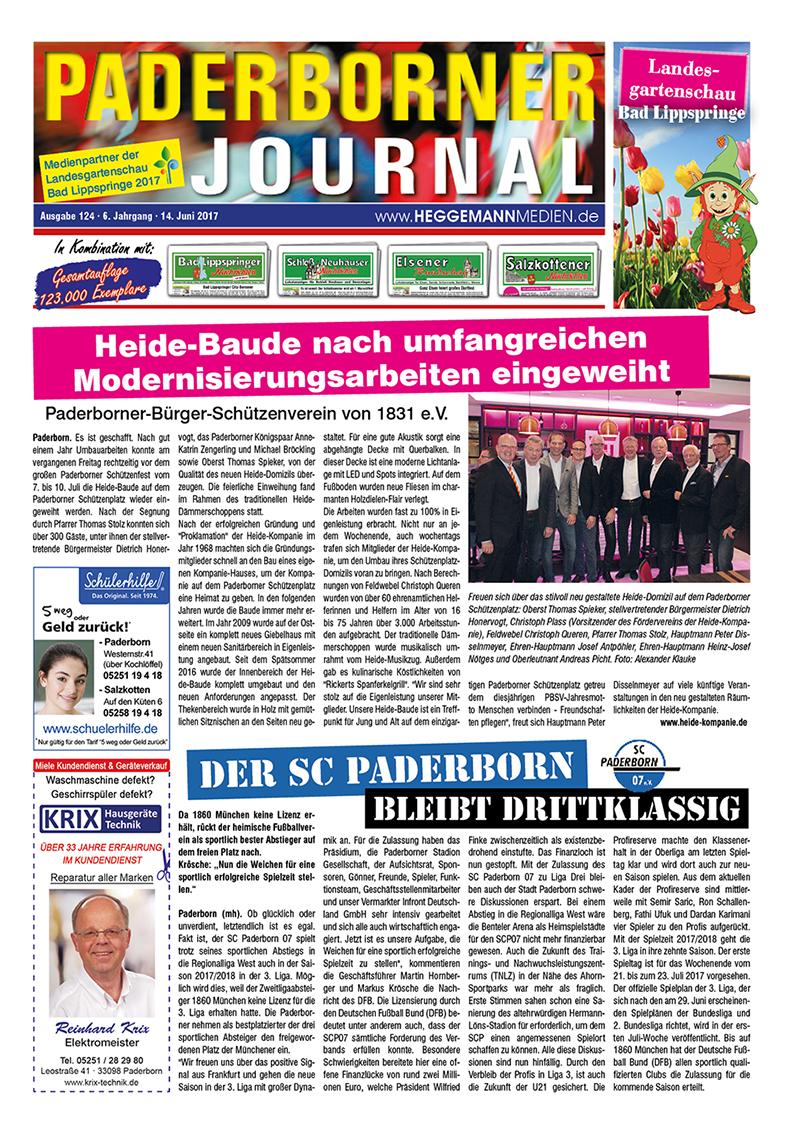 Paderborner Journal 124 vom 14.06.2017
