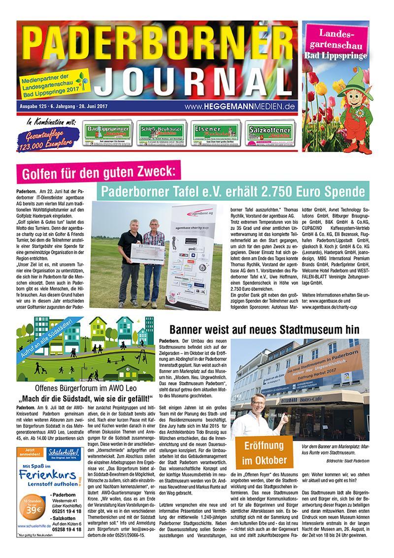 Paderborner Journal 125 vom 28.06.2017