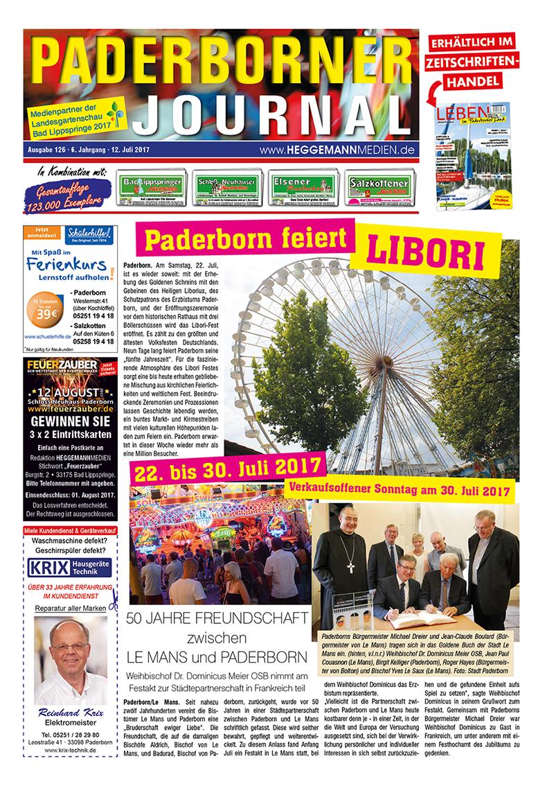 Paderborner Journal 126 vom 12.07.2017