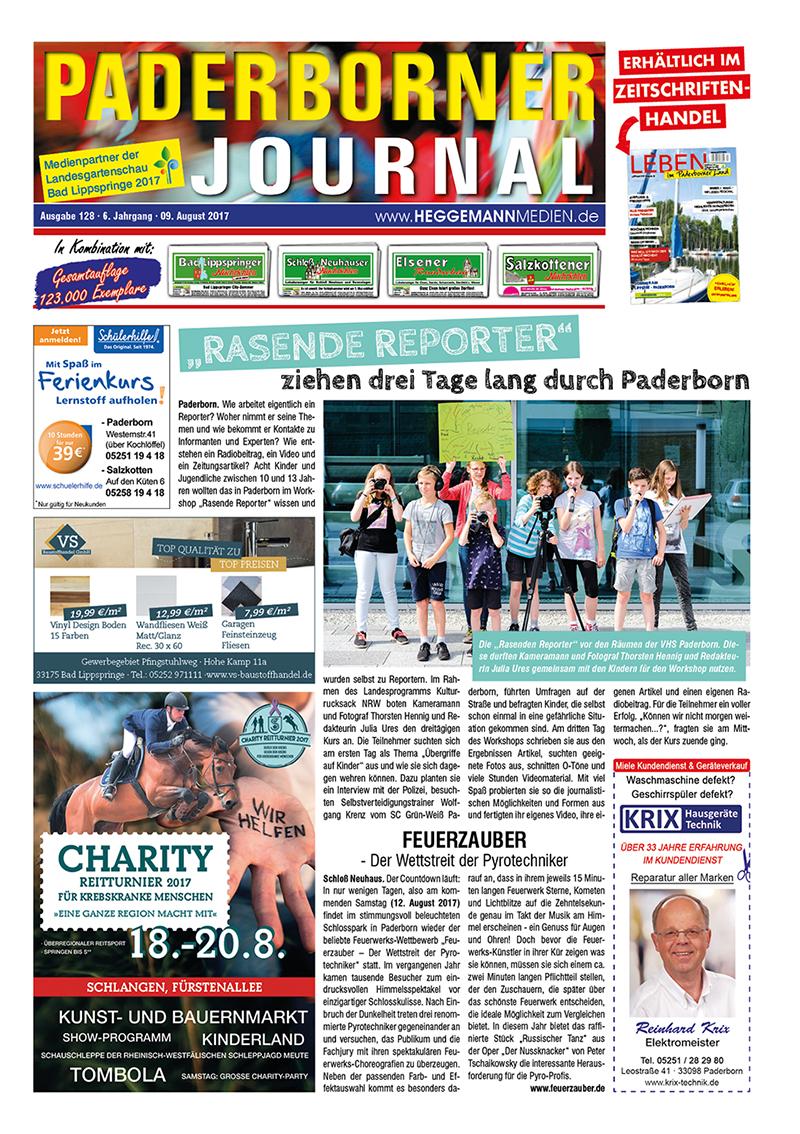 Paderborner Journal 128 vom 09.08.2017