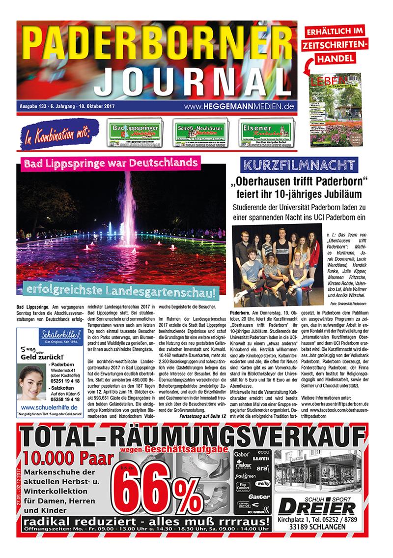 Paderborner Journal 133 vom 18.10.2017