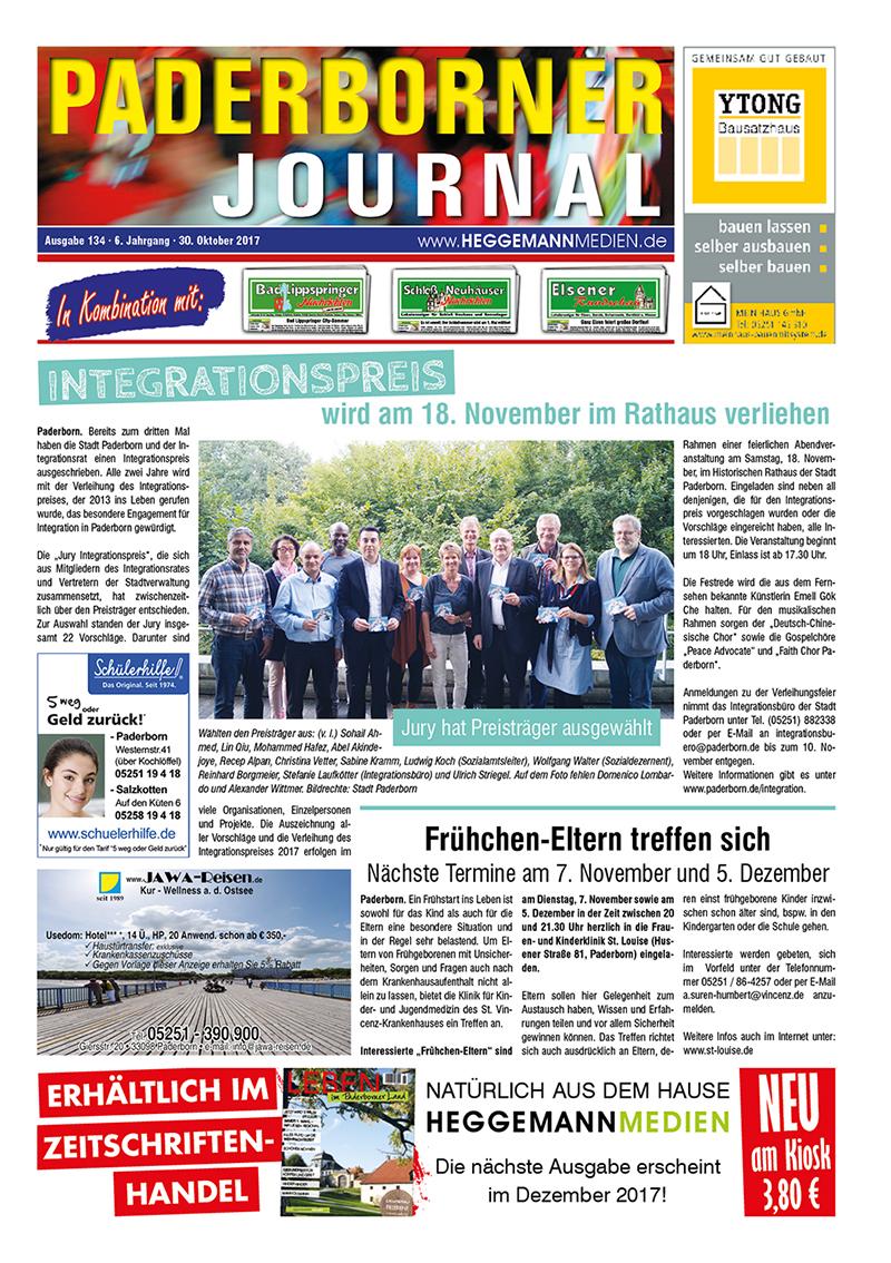 Paderborner Journal 134 vom 30.10.2017