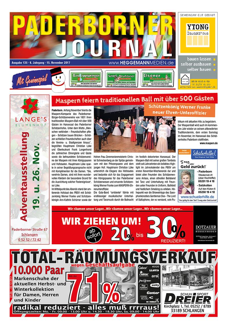 Paderborner Journal 135 vom 15.11.2017