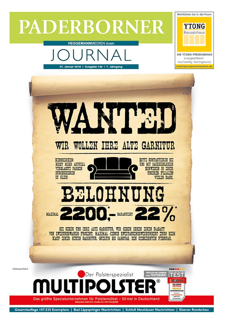 Paderborner Journal 140 vom 31.01.2018