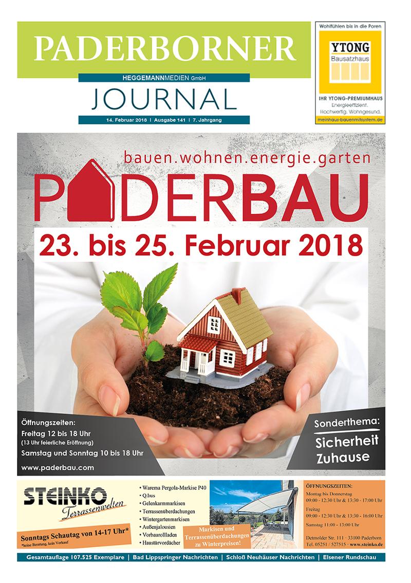 Paderborner Journal 141 vom 14.02.2018