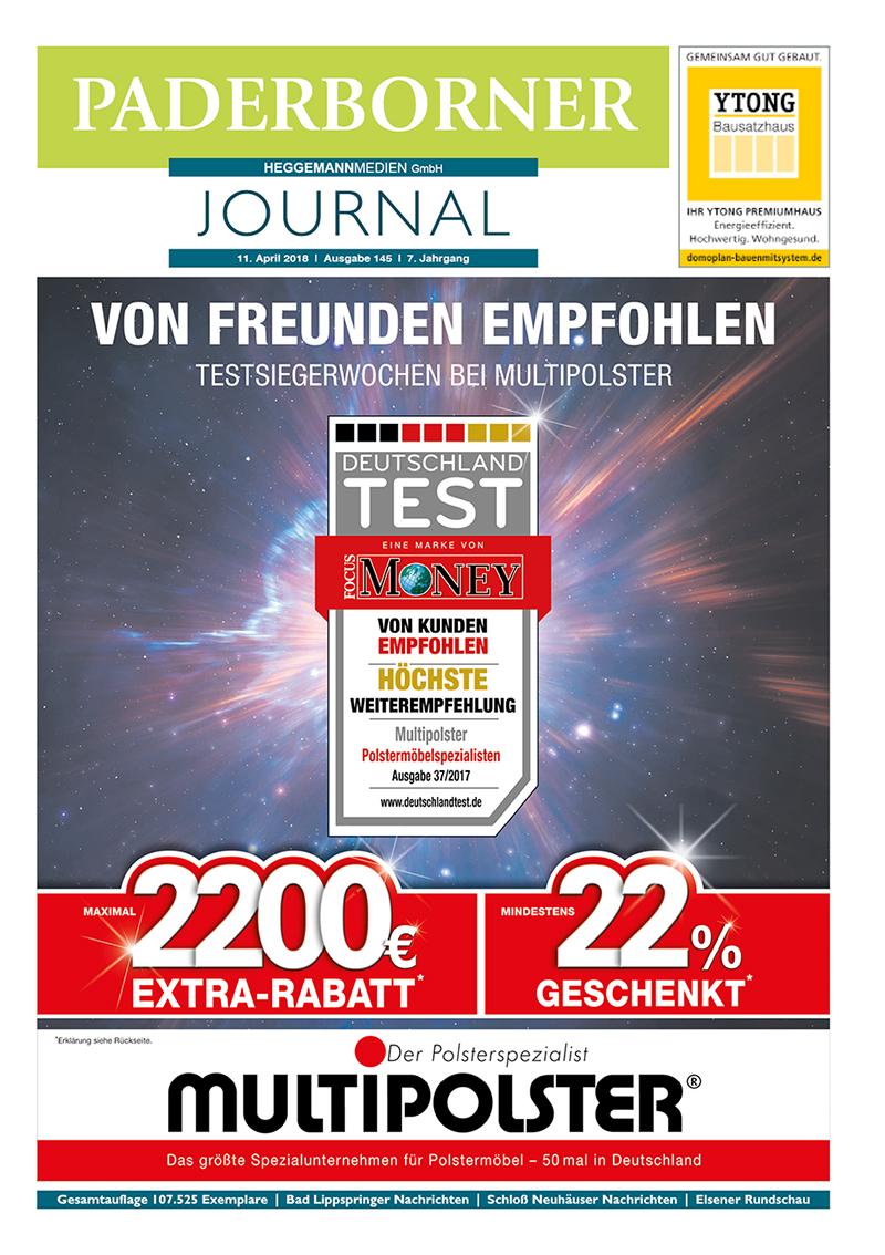 Paderborner Journal 145 vom 11.04.2018