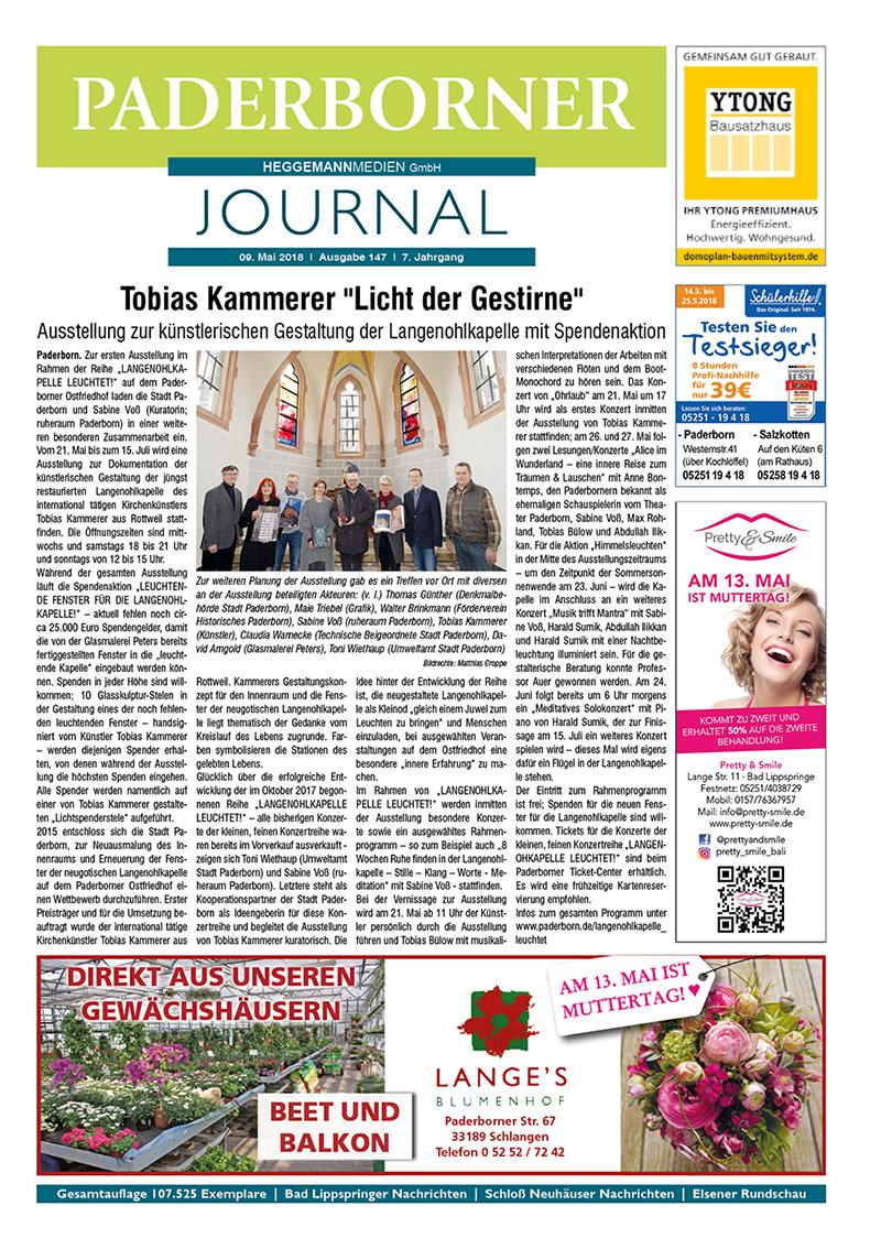Paderborner Journal 147 vom 09.05.2018