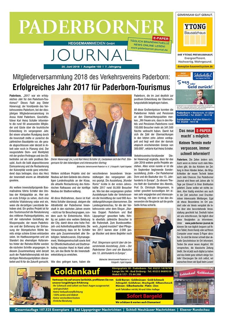 Paderborner Journal 150 vom 20.06.2018