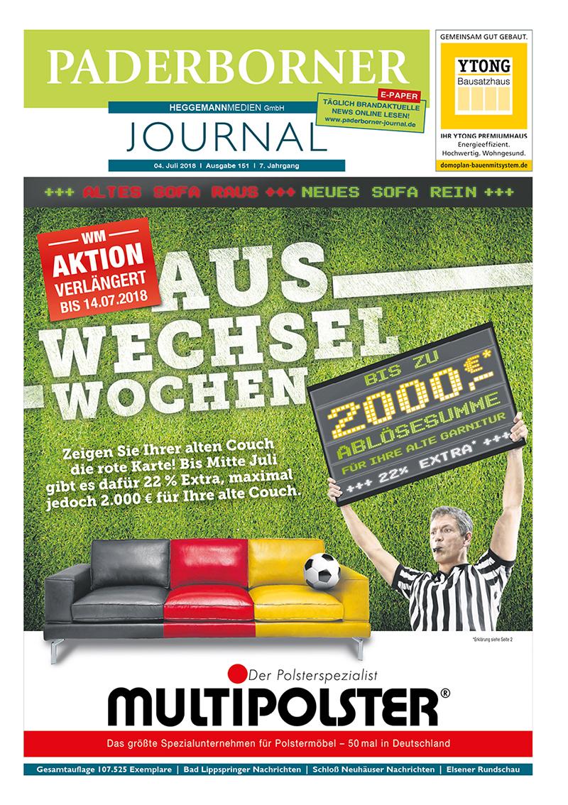 Paderborner Journal 151 vom 04.07.2018