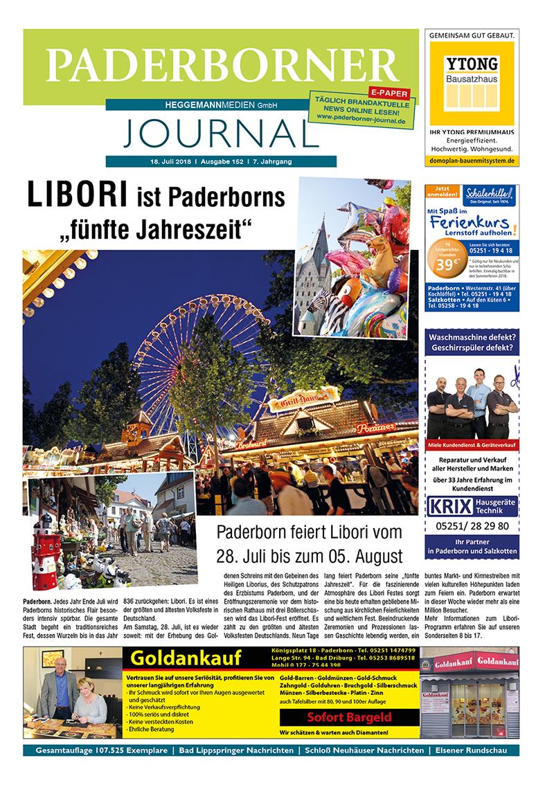 Paderborner Journal 152 vom 18.07.2018