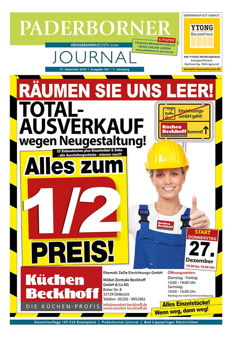 Paderborner Journal 163 vom 27.12.2018