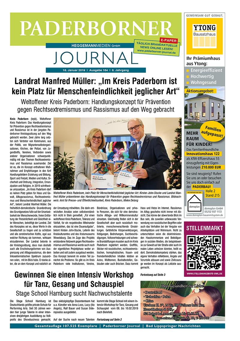 Paderborner Journal 164 vom 18.01.2019