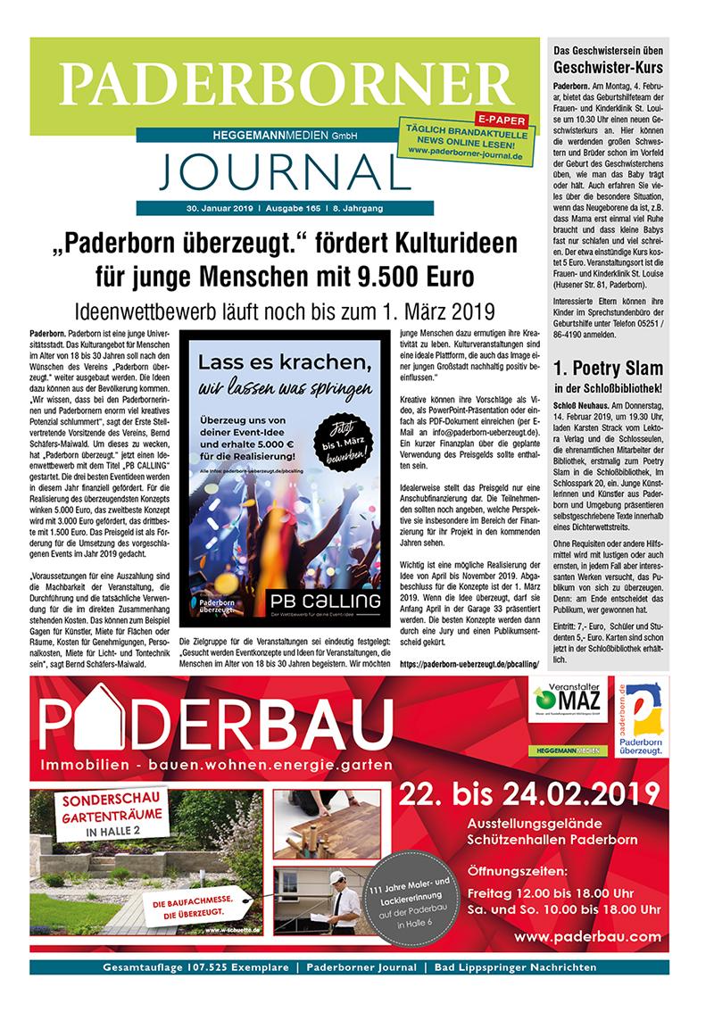 Paderborner Journal 165 vom 30.01.2019