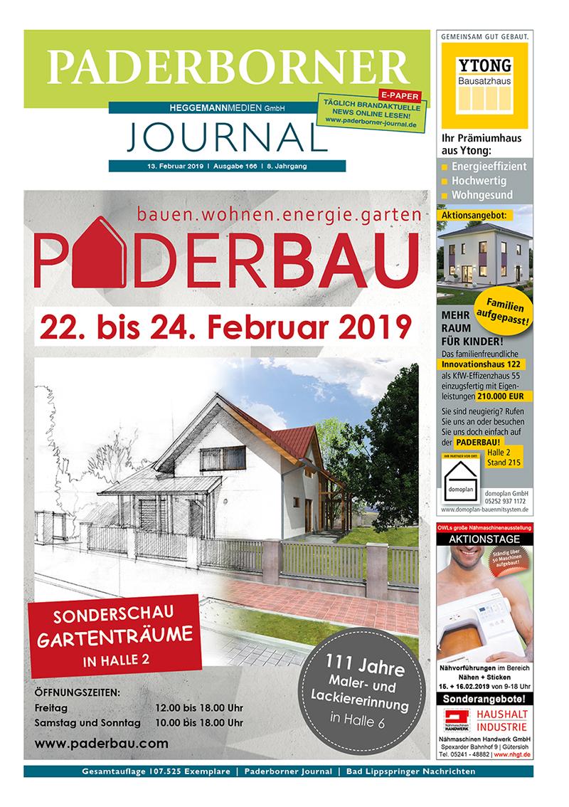 Paderborner Journal 166 vom 13.02.2019