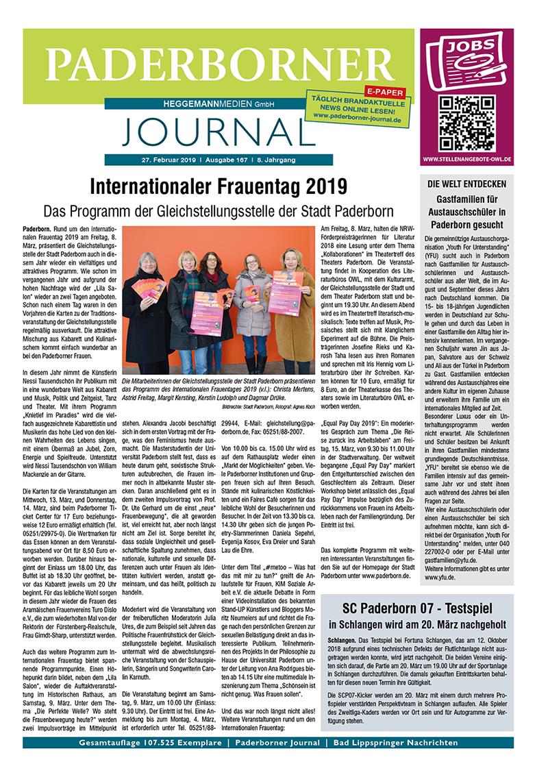 Paderborner Journal 167 vom 27.02.2019