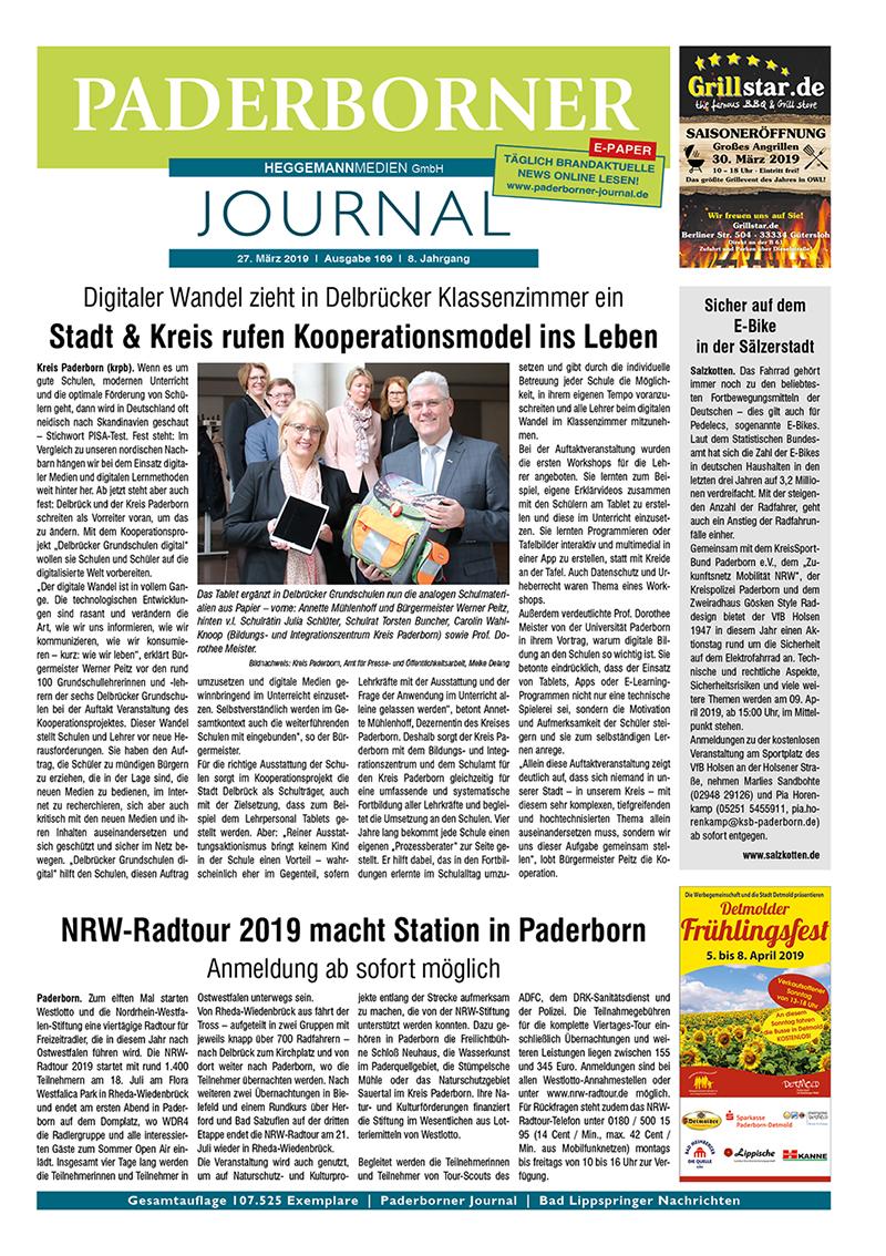 Paderborner Journal 169 vom 27.03.2019