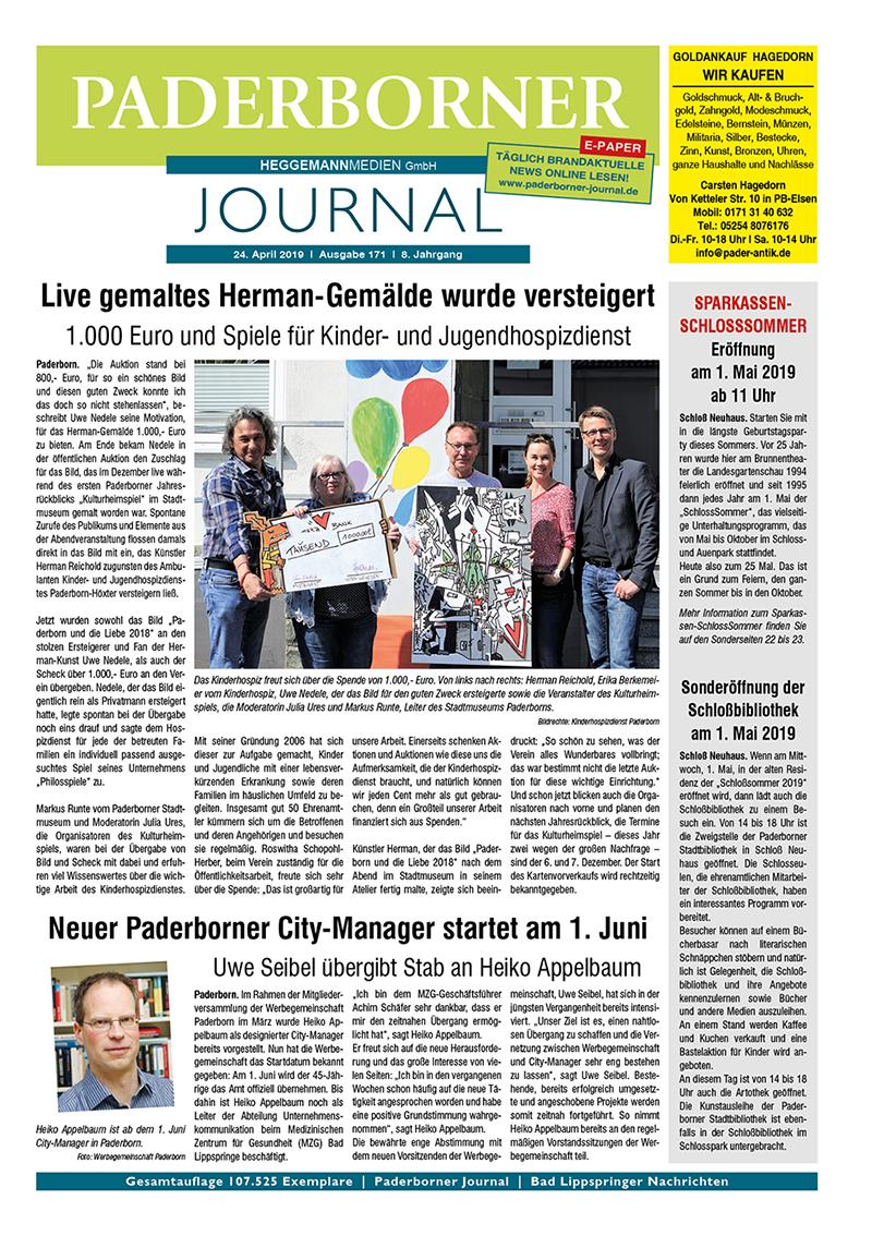 Paderborner Journal 171 vom 24.04.2019