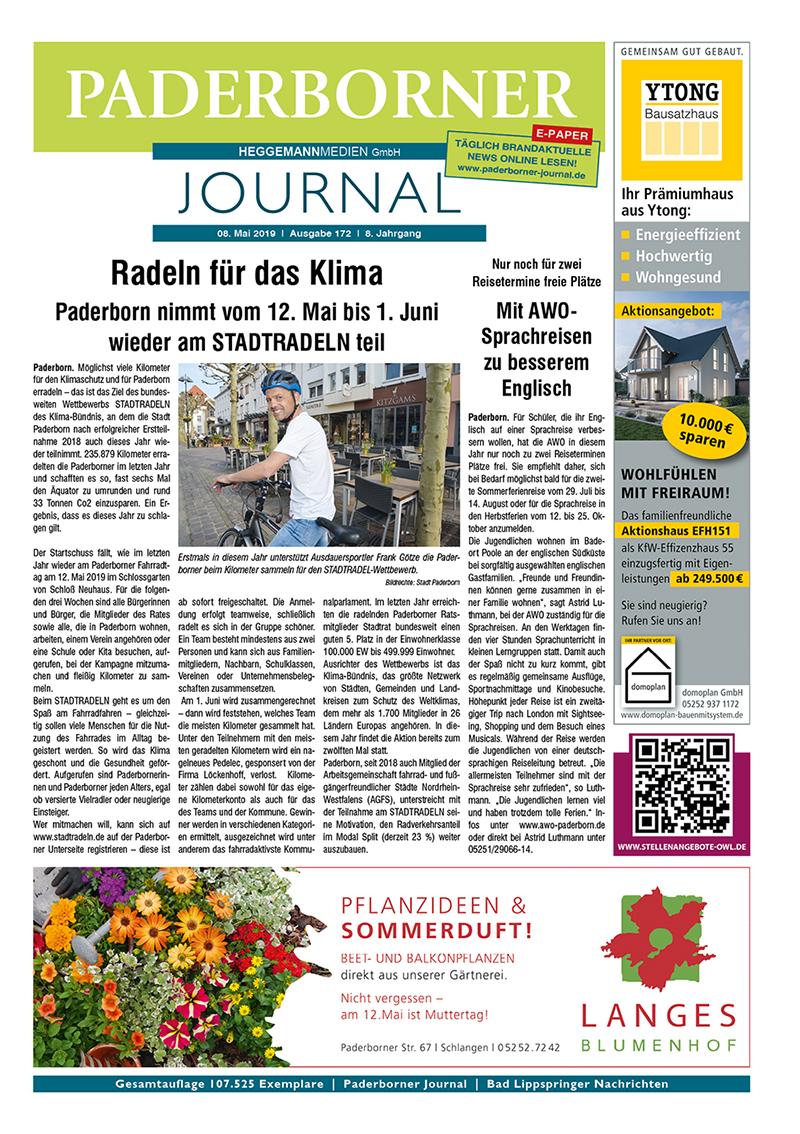 Paderborner Journal 172 vom 08.05.2019