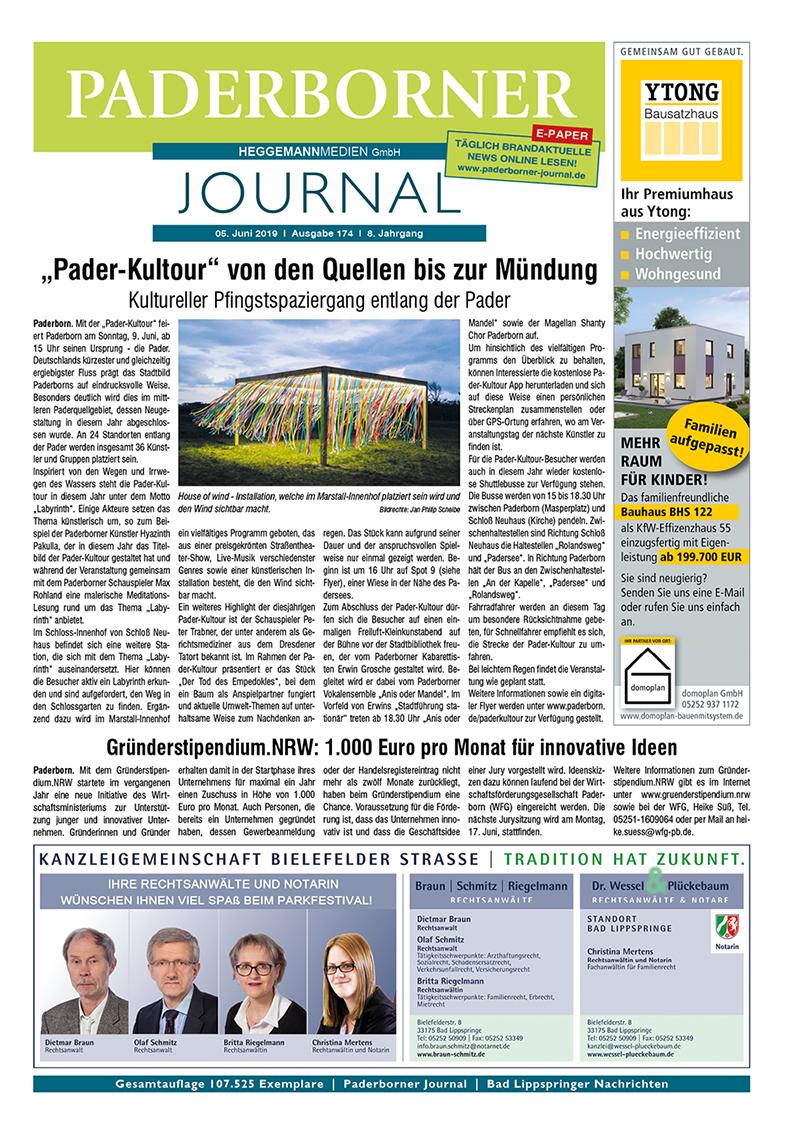 Paderborner Journal 174 vom 05.06.2019