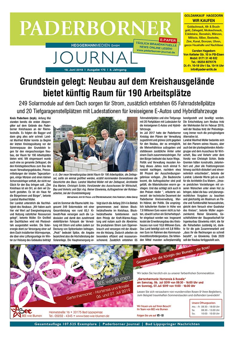 Paderborner Journal 175 vom 19.06.2019