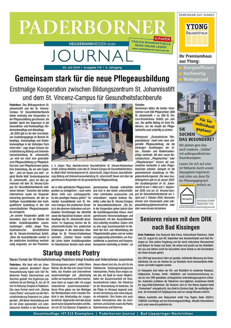 Paderborner Journal 176 vom 03.07.2019