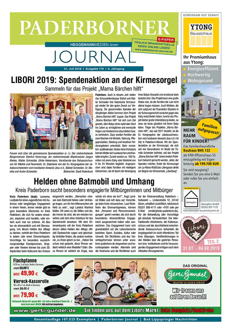 Paderborner Journal 178 vom 31.07.2019