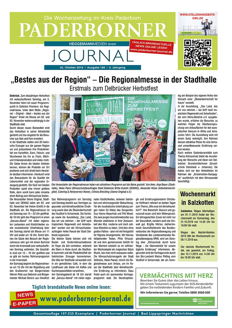 Paderborner Journal 186 vom 30.10.2019
