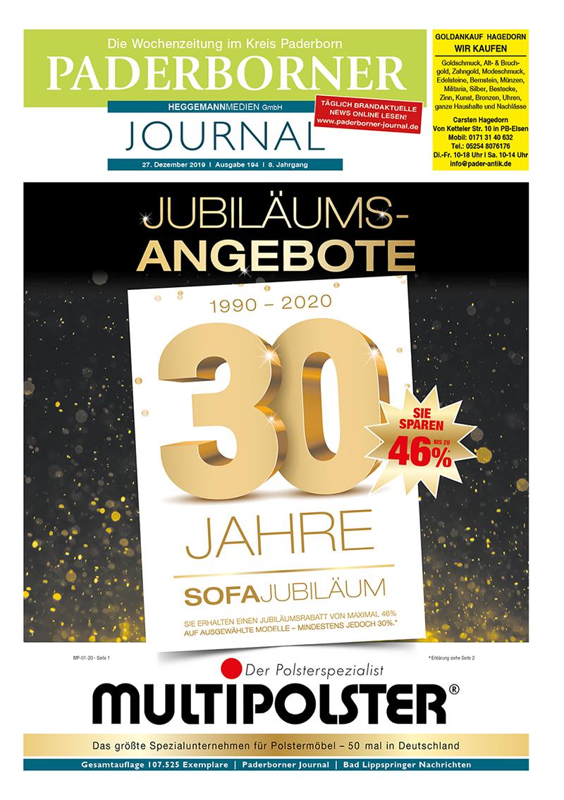 Paderborner Journal 194 vom 27.12.2019