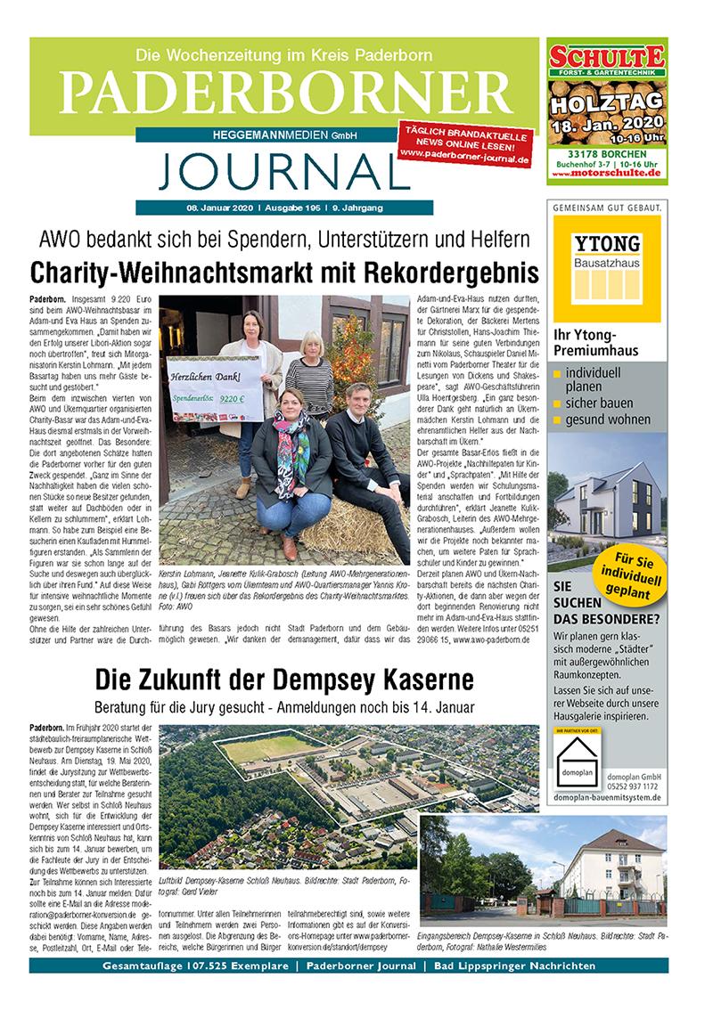 Paderborner Journal 195 vom 08.01.2020