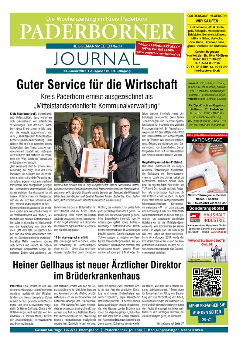 Paderborner Journal 198 vom 29.01.2020