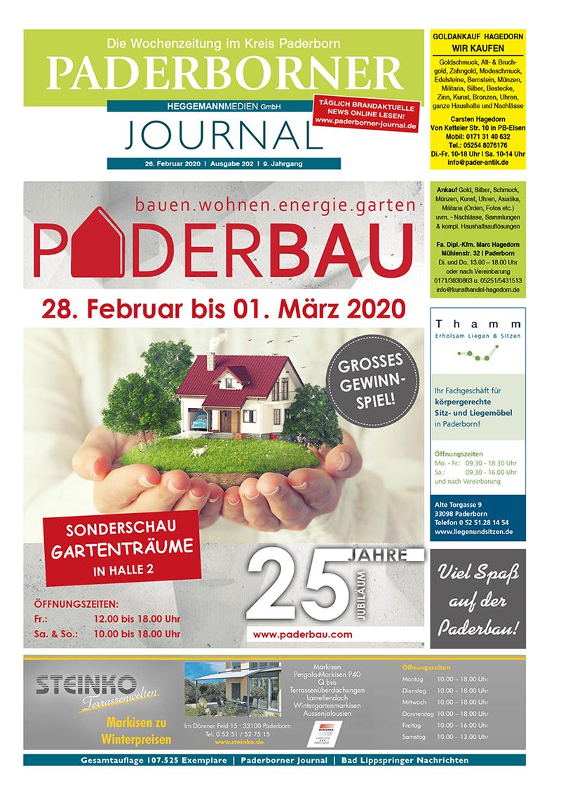 Paderborner Journal 202 vom 26.02.2020