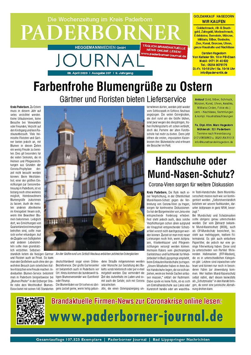 Paderborner Journal 207 vom 08.04.2020