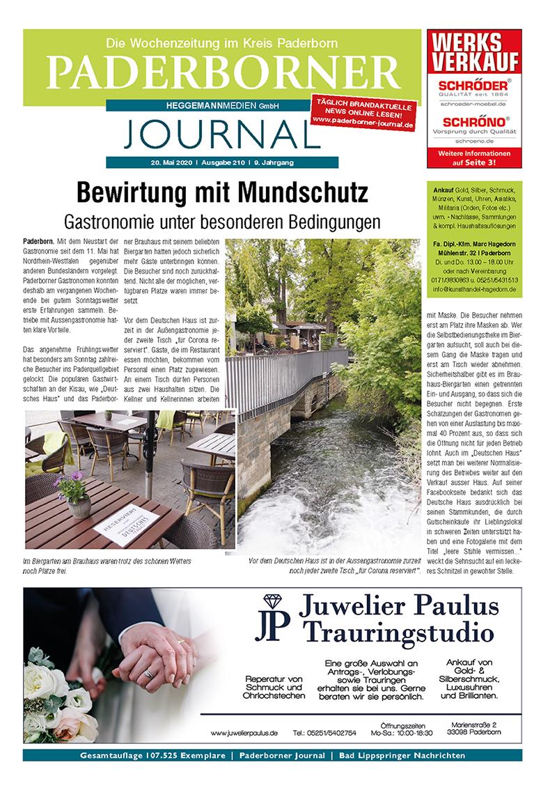 Paderborner Journal 210 vom 20.05.2020
