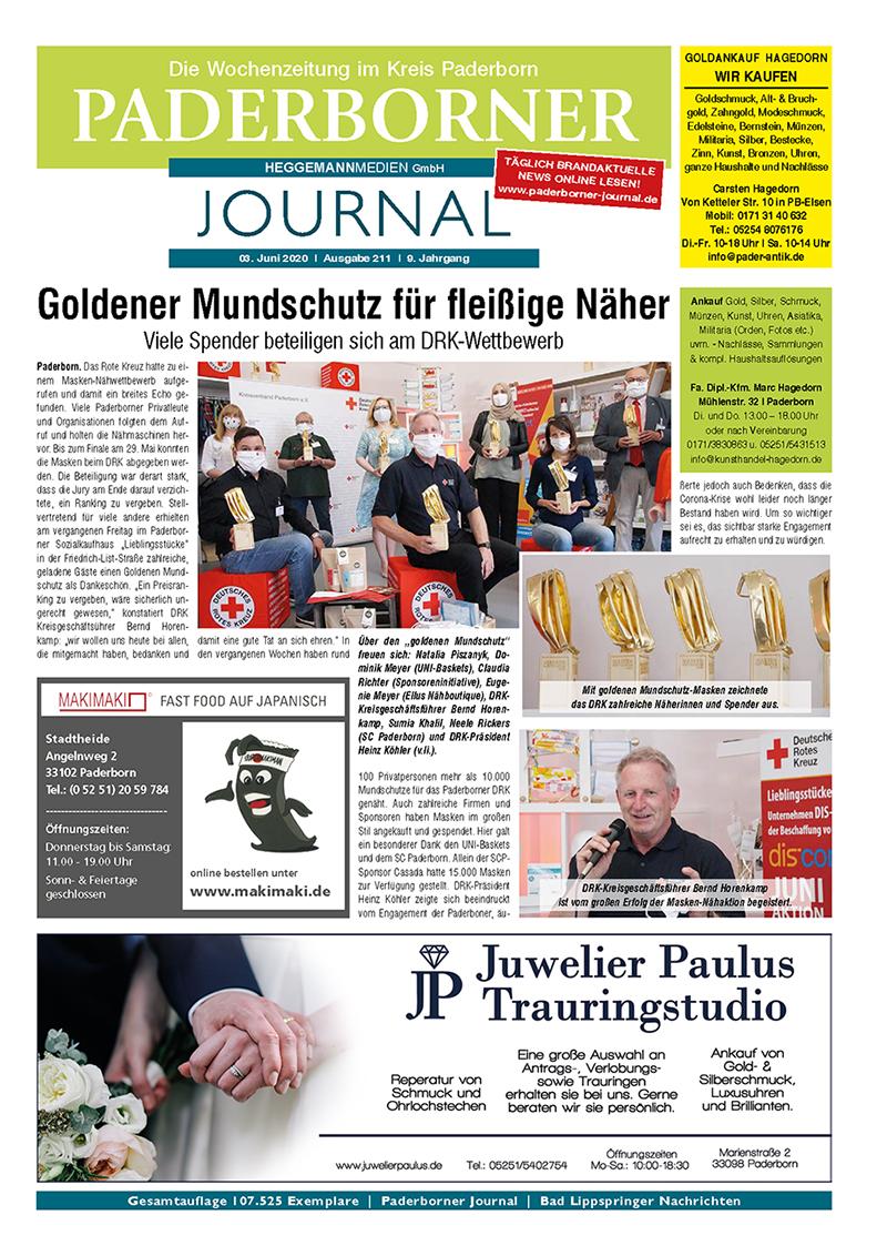 Paderborner Journal 211 vom 03.06.2020