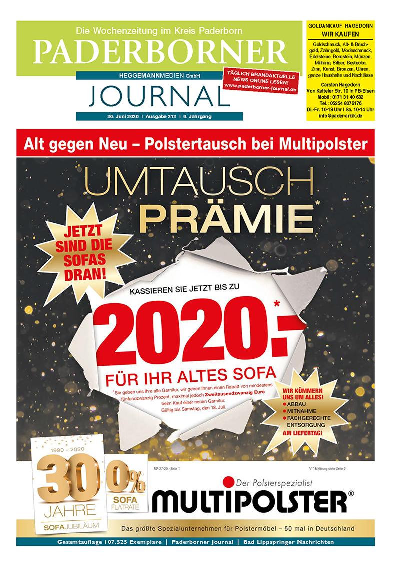 Paderborner Journal 213 vom 30.06.2020