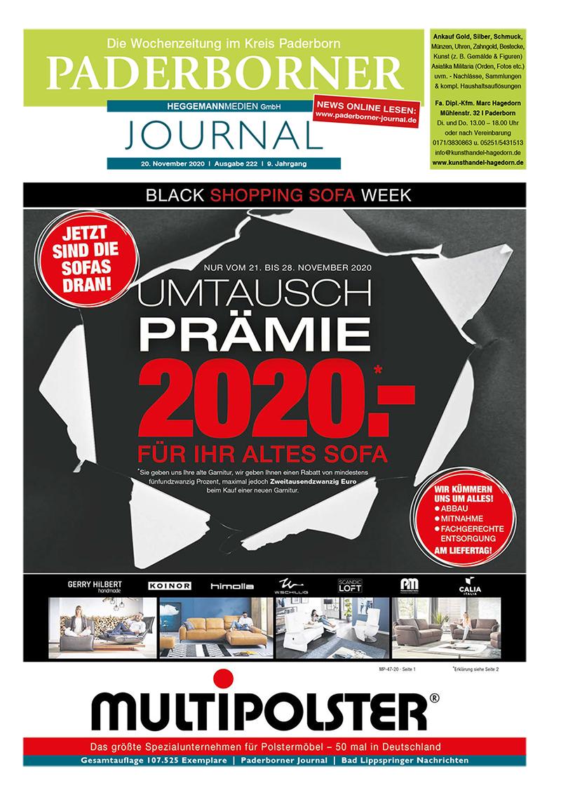 Paderborner Journal 222 vom 20.11.2020