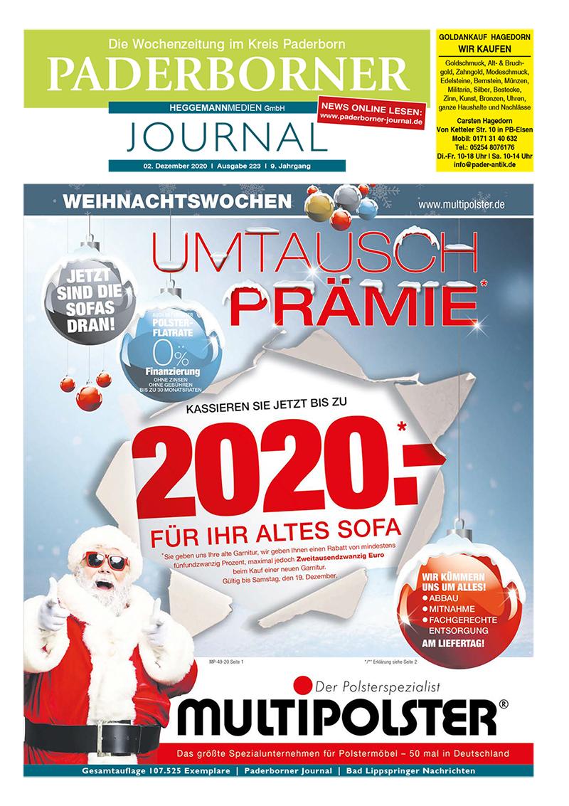 Paderborner Journal 223 vom 02.12.2020